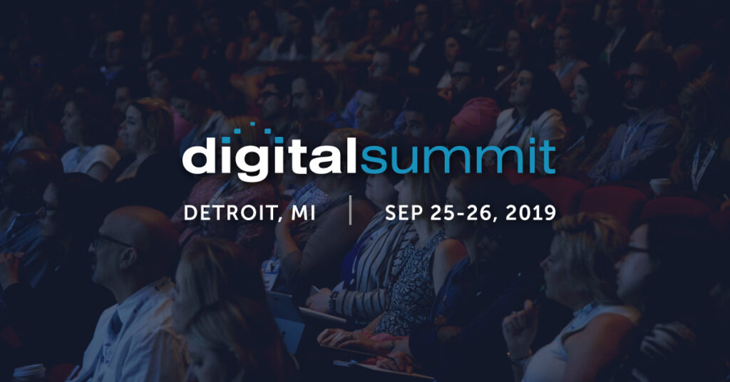 #DSDET Digital Summit