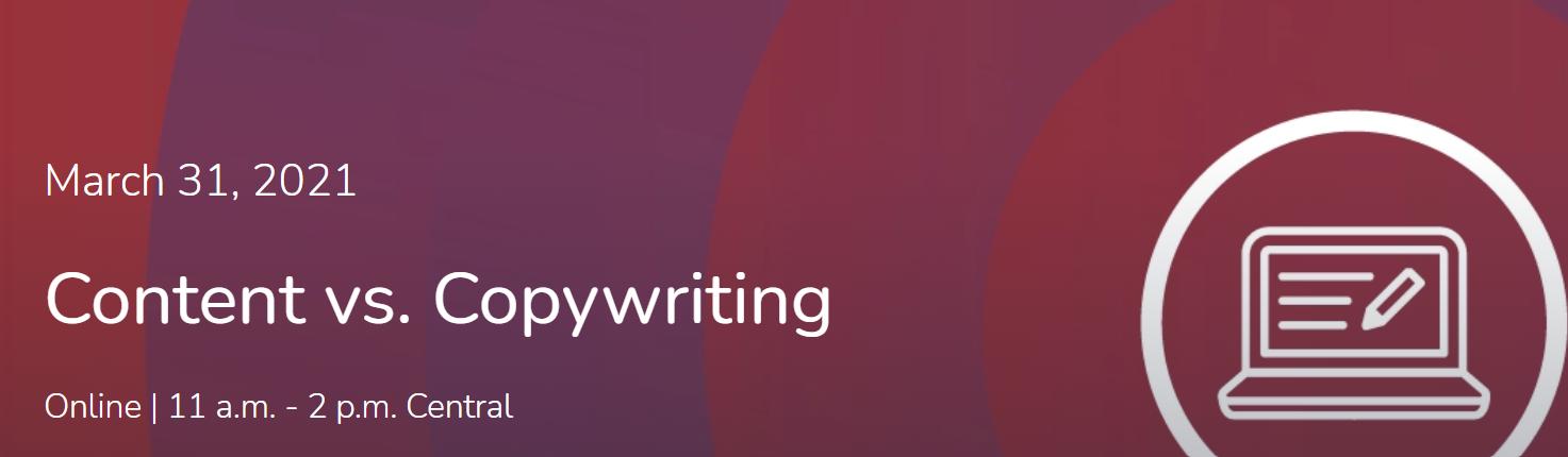 Content vs. Copywriting